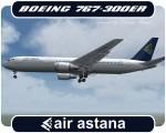 Air Astana Boeing 767-300 - P4-KCB