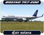 Air Astana Boeing 757-200 - P4-FAS