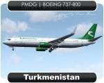 Turkmenistan Boeing 737-800 - EZ-A005