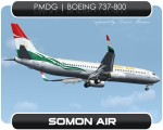 Somon Air Boeing 737-800 - EY-787