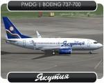 Yakutia Boeing 737-700 - VQ-BDE