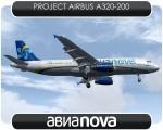 Avianova Airbus A320 - EI-EEI