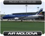 Air Moldova Airbus A320 - ER-AXV