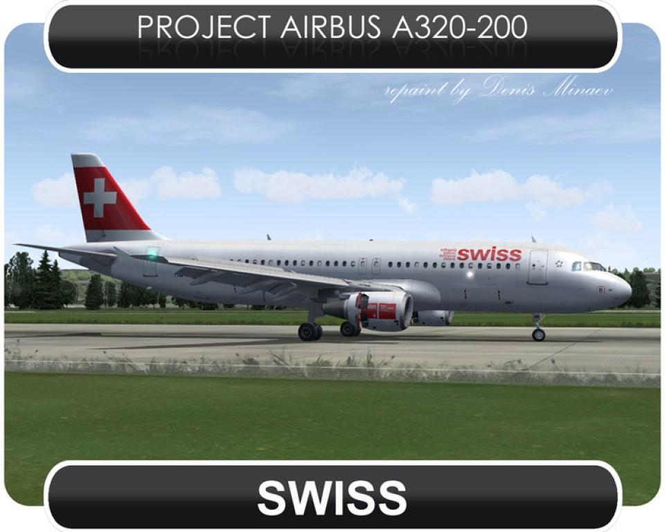 Swissair Airbus A320 - HB-IJW