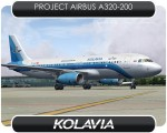 Kolavia Airbus A320 - TC-KLB