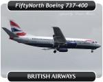 British Airways Boeing 737-400 - G-DOCB
