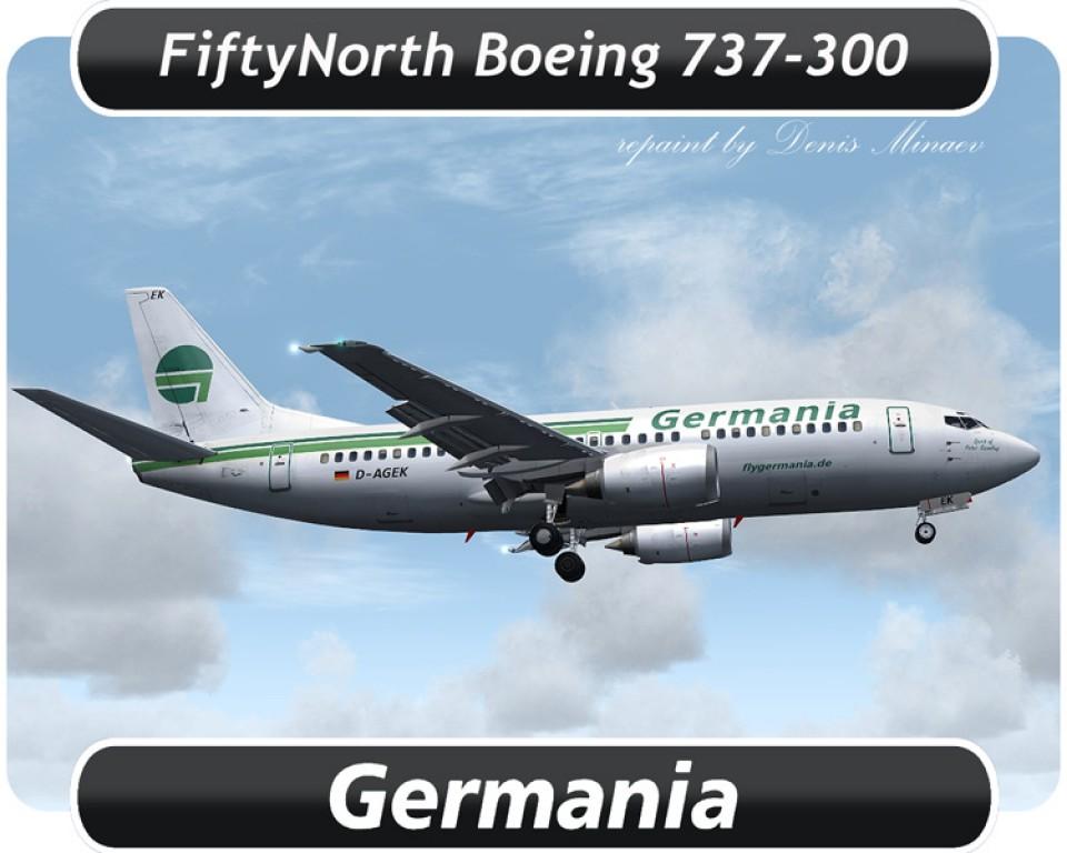 Germania Air Boeing 737-300 - D-AGEK