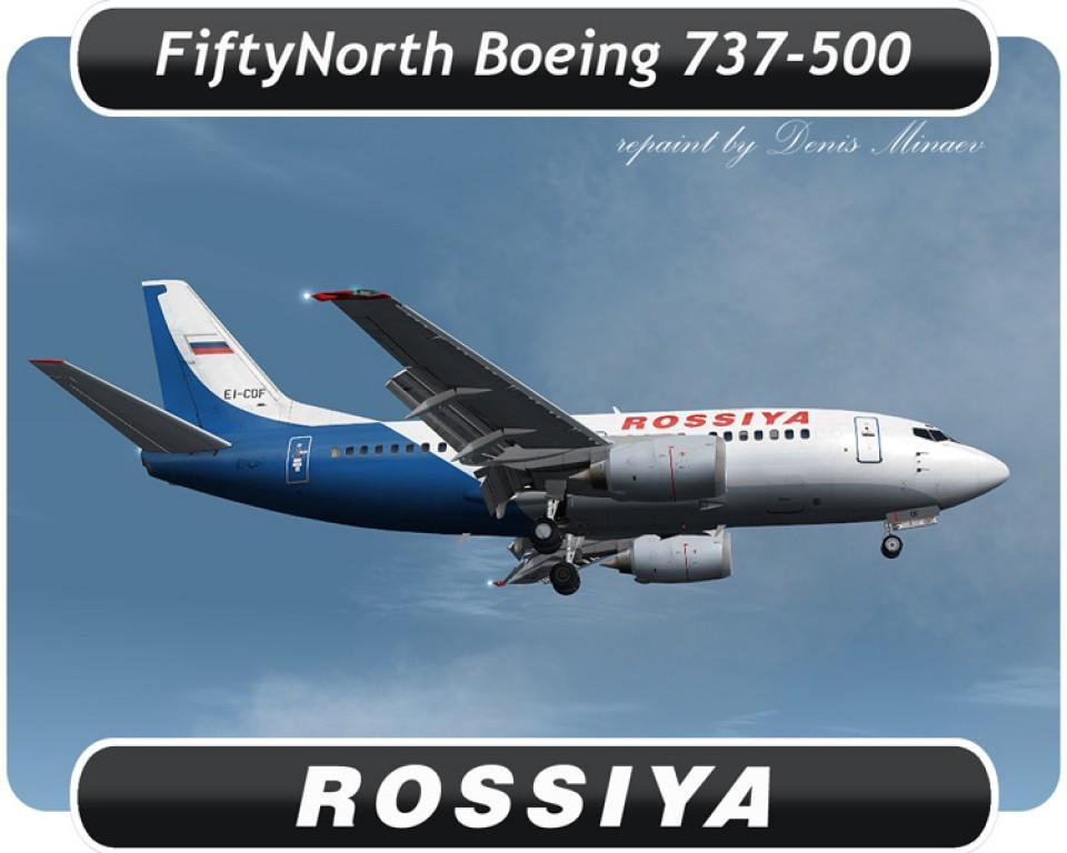 Rossiya Boeing 737-500 - EI-CDF