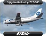 Utair Boeing 737-500 - VP-BYM