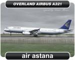 Air Astana Airbus A321 - P4-NAS