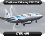 Itek Air Boeing 737-200 - EX-009