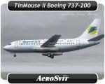 Aerosvit Boeing 737-200 - UR-BVY