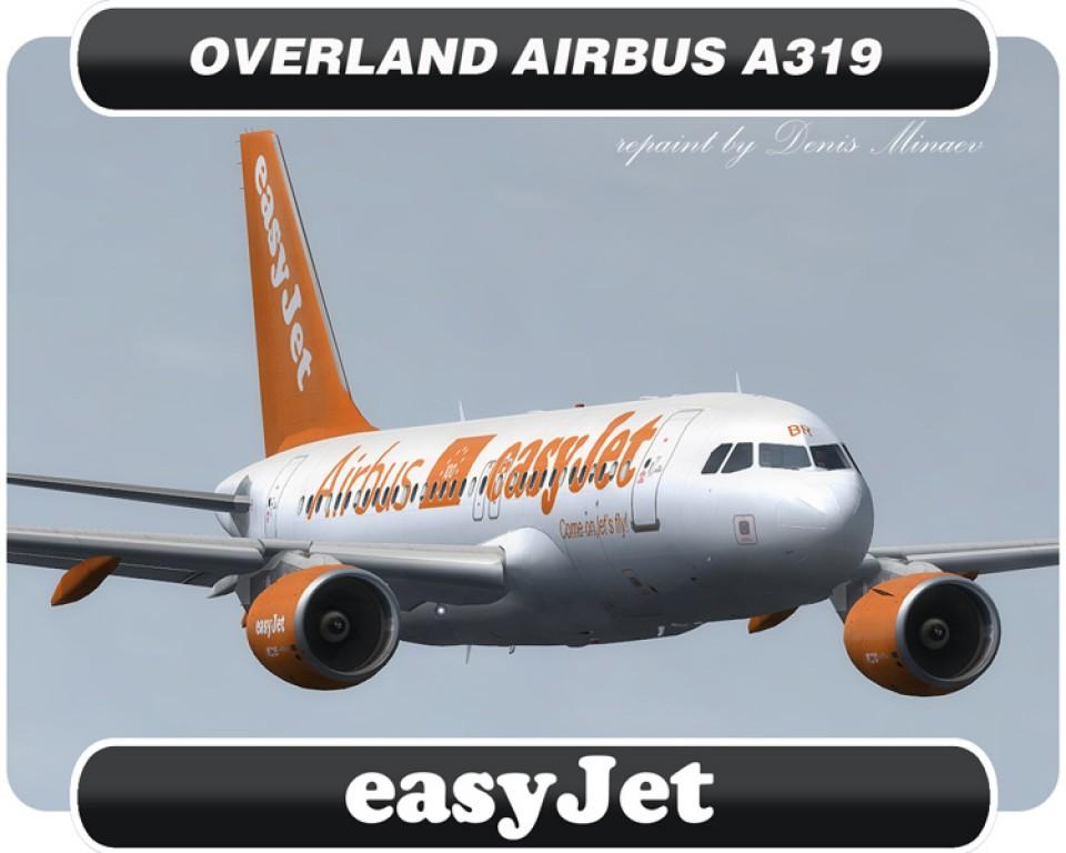 easyJet Airbus A319 - G-EZBR