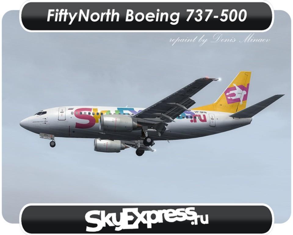 SkyExpress Boeing 737-500 - VP-BFN