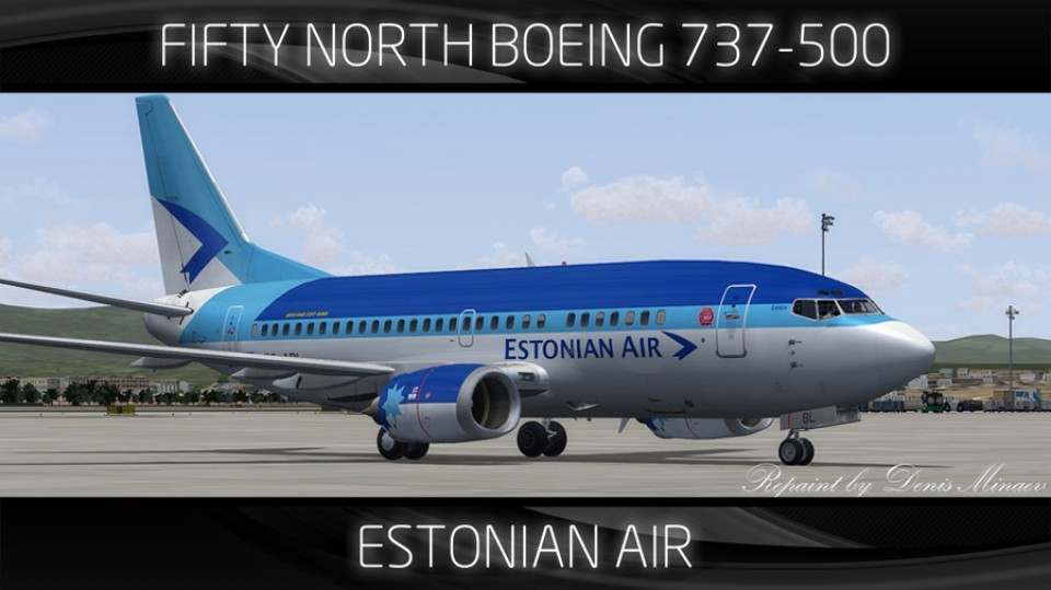 Estonian Air Boeing 737-500 - ES-ABL