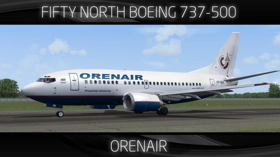 Orenair Boeing 737-500 - VP-BGR