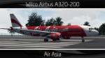 Air Asia Airbus A320-200 - HS-ABG