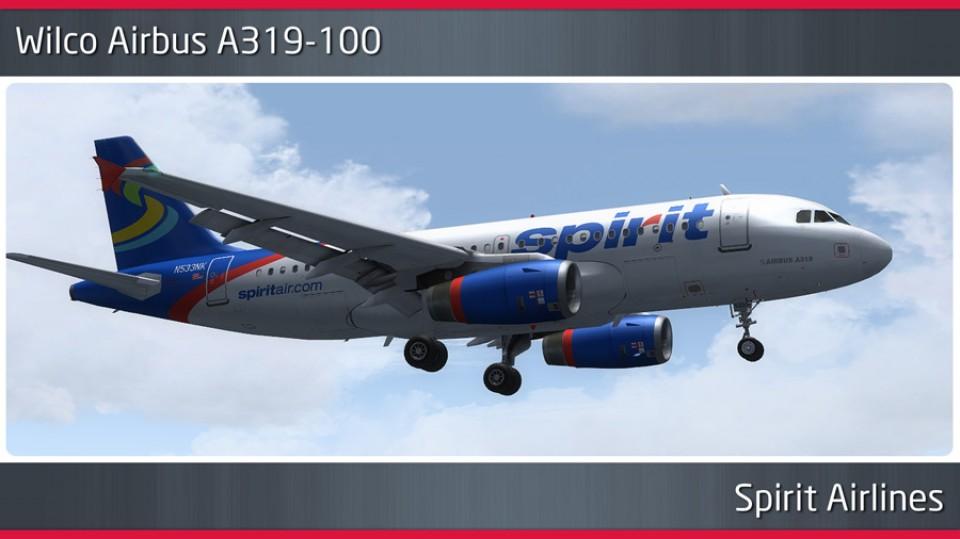 Spirit Airlines Airbus A319-100 - N533NK