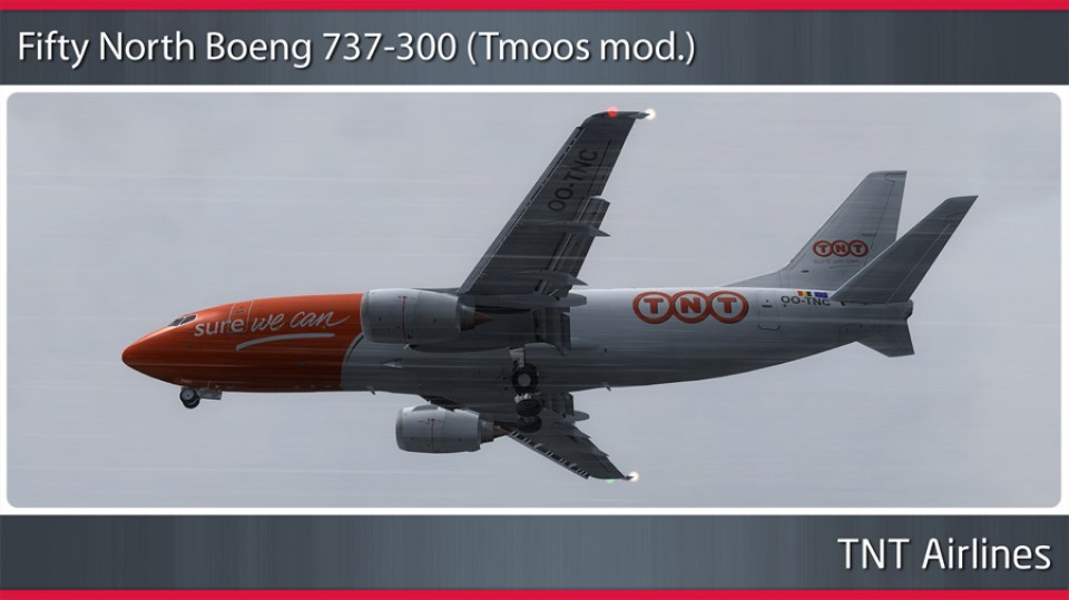 TNT Airlines Boeing 737-300 - OO-TNC
