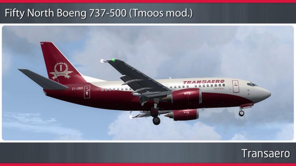 Transaero Imperial Boeing 737-500 - EI-UNH