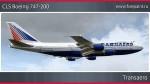 Transaero Boeing 747-200 - VP-BQH