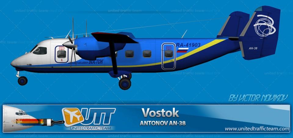 Vostok Antonov AN-38