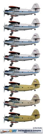2nd Sverdlovsk Air Enterprise An-2