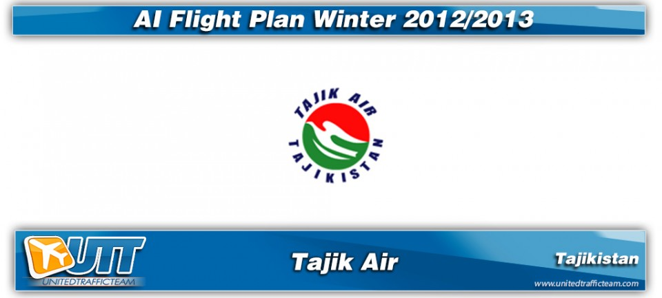 Tajik Air Winter 2012/13