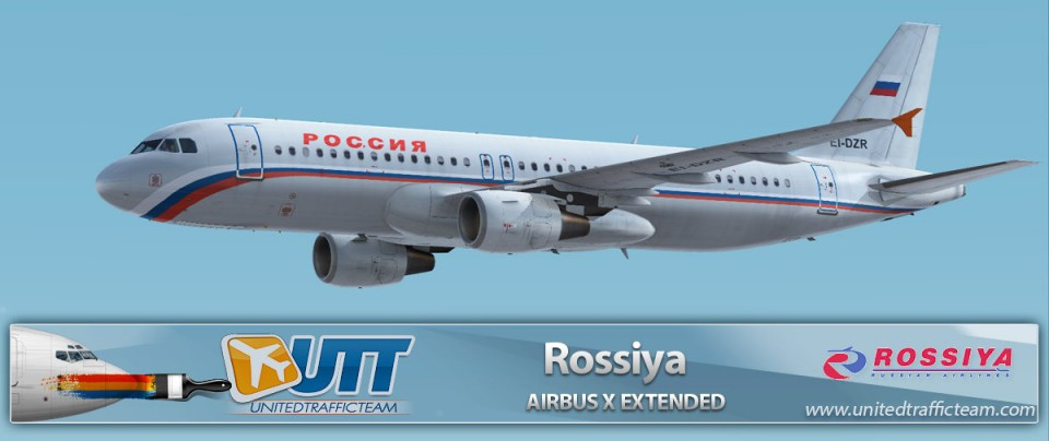 Airbus X Extended A320 Rossiya EI-DZR