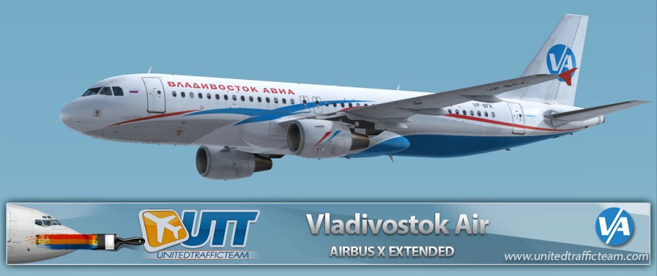 Airbus X Extended A320 Vladivostok Air VP-BFX