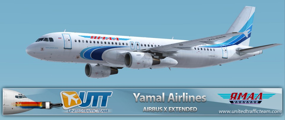 Airbus X Extended A320 Yamal Airlines VQ-BNR