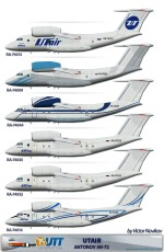 Utair Antonov An-72 Pack