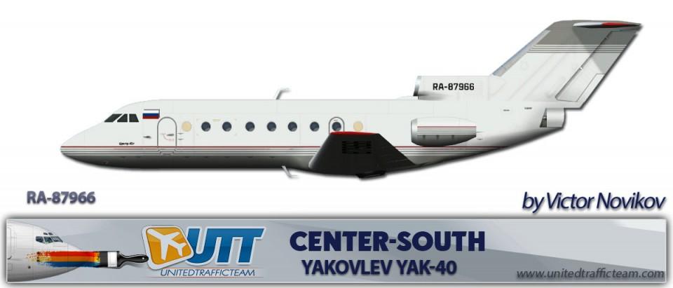 Center South Yakovlev Yak-40