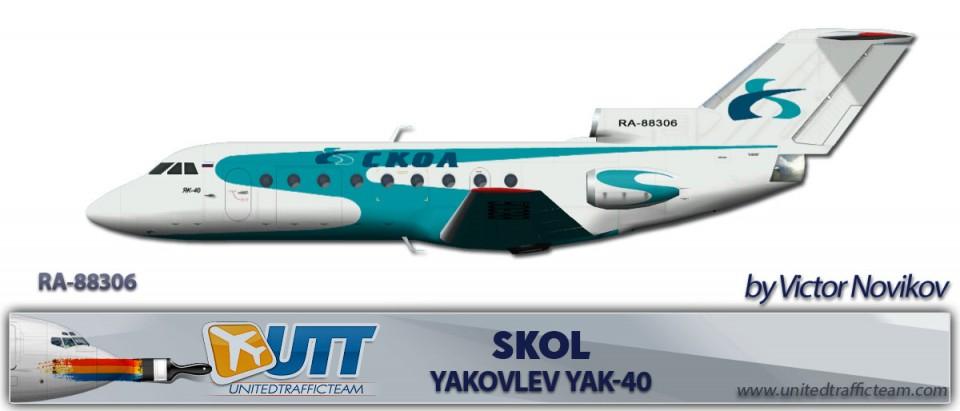 Skol Yakovlev Yak-40