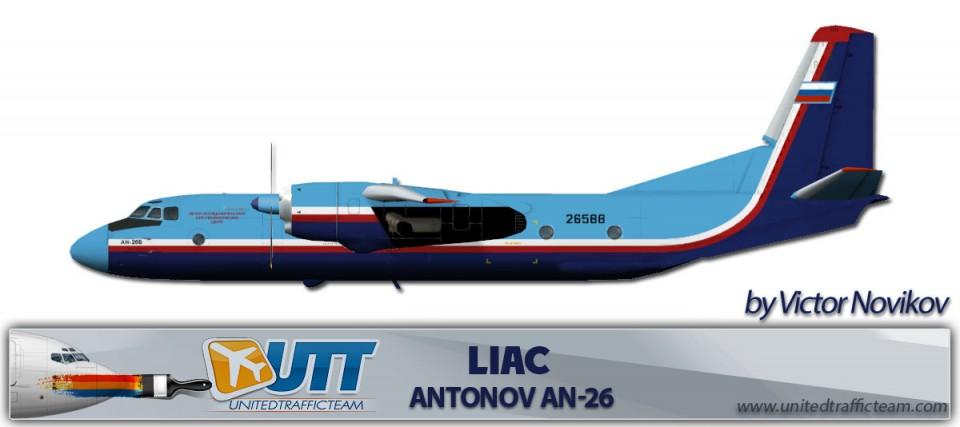 LIAC Antonov An26B 26588