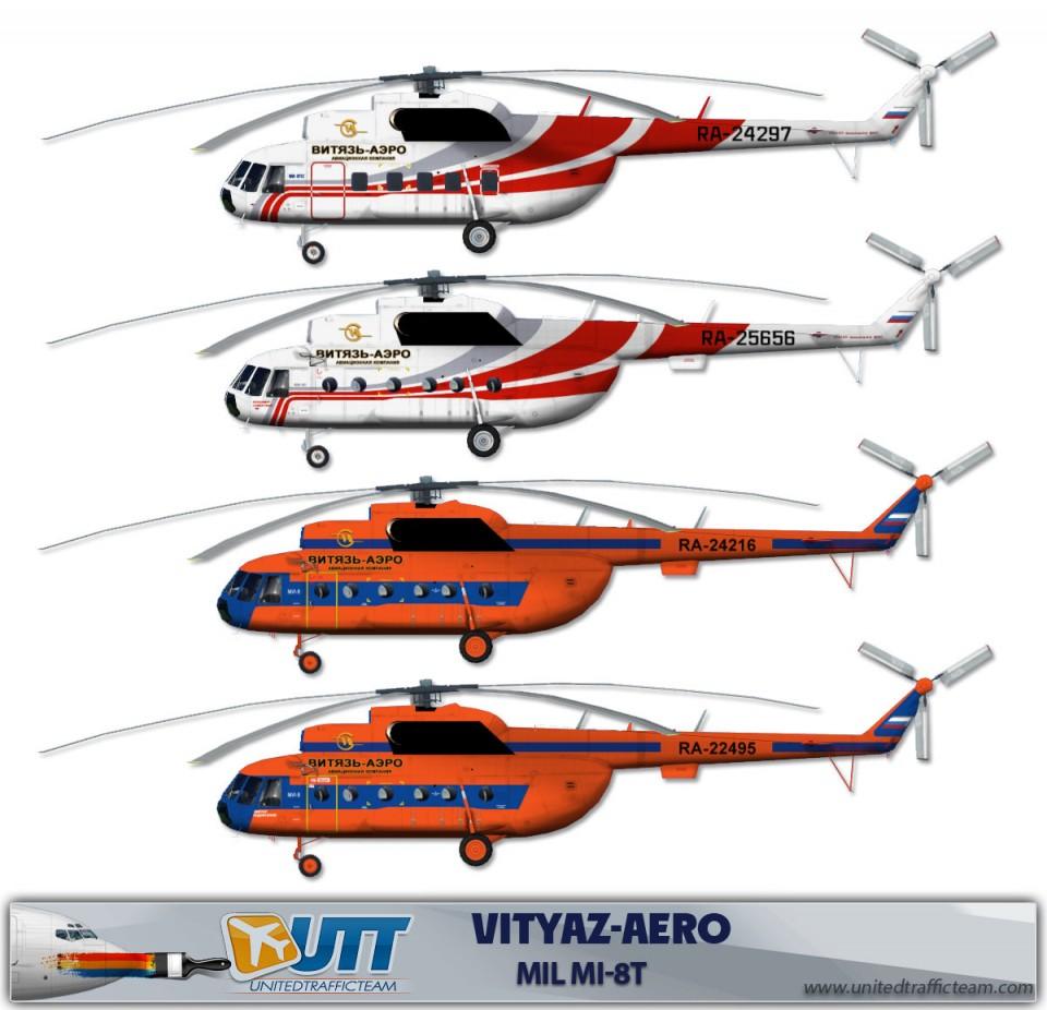 Vityaz-Aero Mil Mi-8T