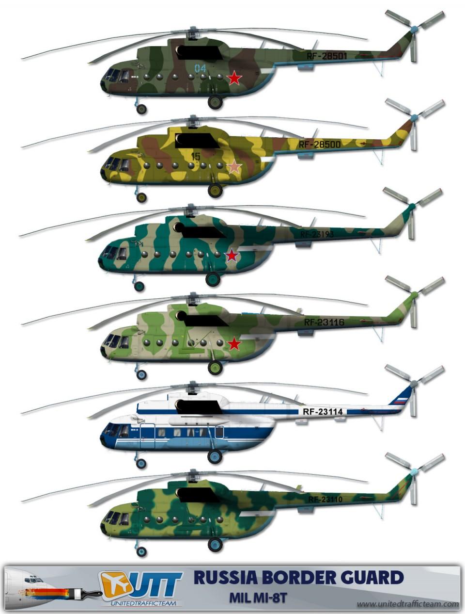 Russia Border Guard Mil Mi-8T