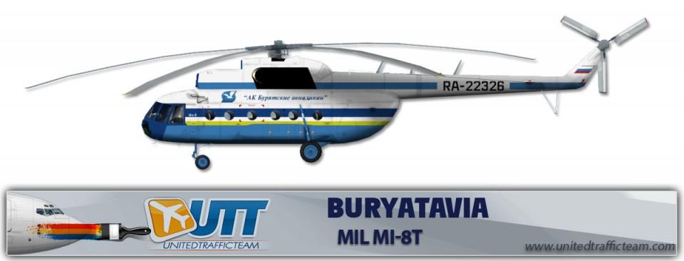 BURYATAVIA RA-22326 Mil Mi-8T