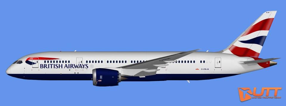 British Airways Boeing 787-8 Dreamliner (FSX,Prepar3D)