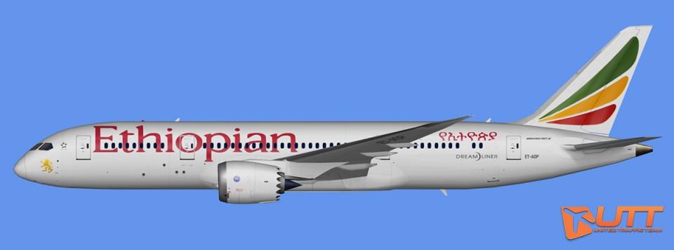 Ethiopian Airlines Boeing 787-8 Dreamliner Pack
