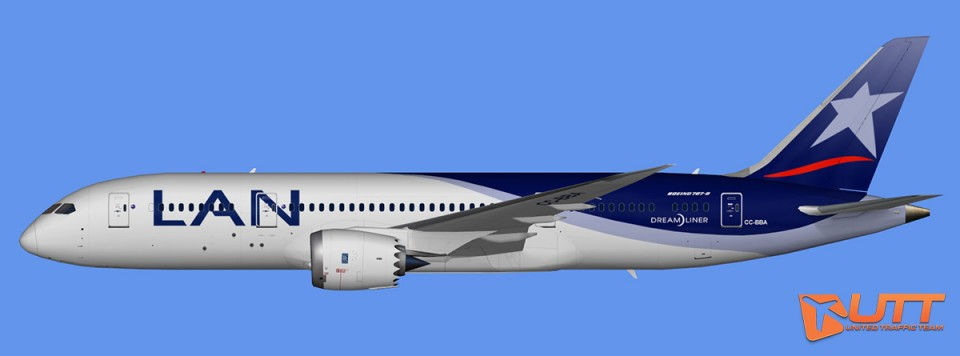 LAN Airlines Boeing 787-8 Dreamliner Pack