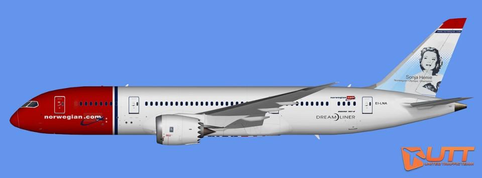 Norwegian Air Boeing 787-8 Dreamliner (FSX,Prepar3D)