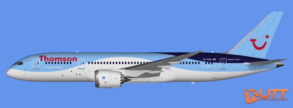 Thomson Airways Boeing 787-8 Dreamliner (FSX,Prepar3D)