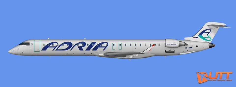 Adria Airways CRJ-900 (FSX)