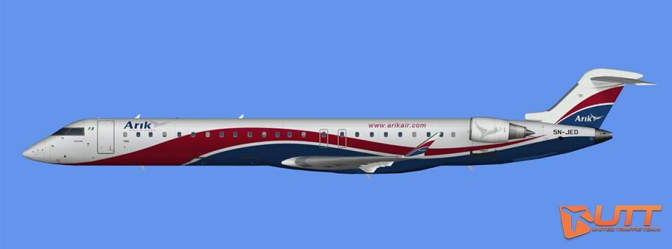 Arik Air CRJ-900 (FSX)