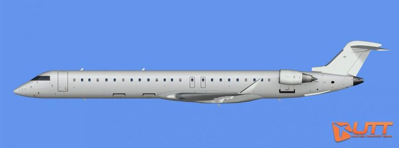 UTT AI Bombardier Canadair CRJ-900 model