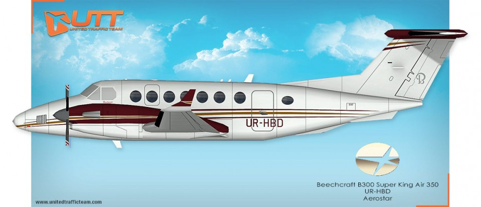 UTT AI Beechcraft King Air 350 (JYAI) Aerostar UR-HBD