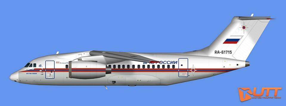 EMERCOM of Russia An-148