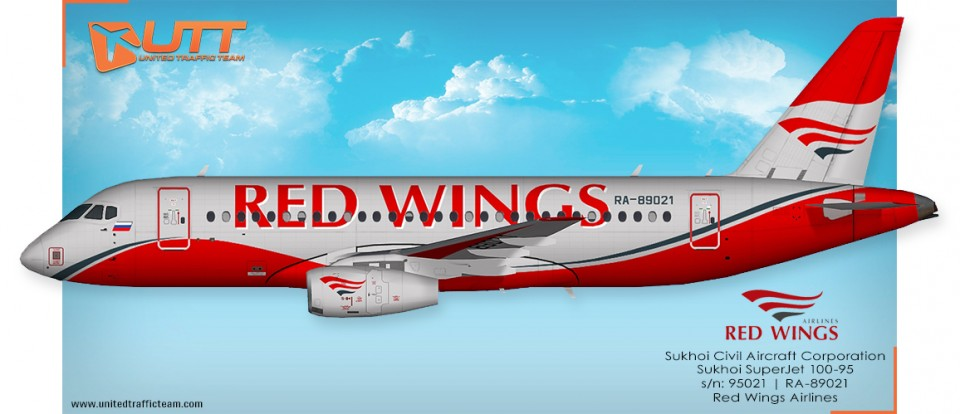 Red Wings AI Sukhoi Superjet 100