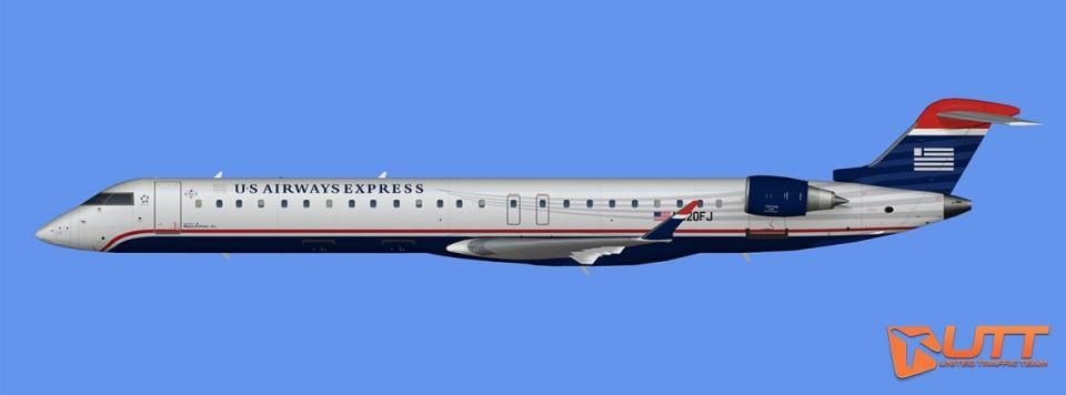 US Airways Express CRJ-900 (FSX)